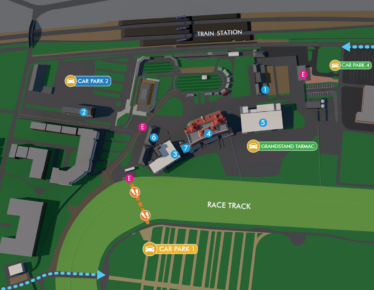 Conference & Events - Site Plan - Newbury Racecourse